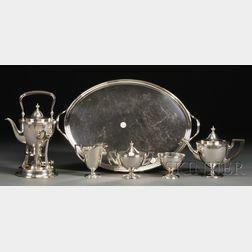 Tiffany & Co. Sterling Six-piece Tea Set