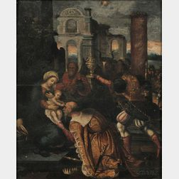 Italian School, 16th Century      Adoration of the Magi