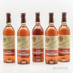 R. Lopez de Heredia Vina Tondonia Gran Reserva Rosado 2000, 5 bottles