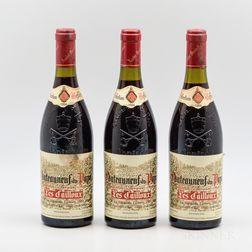 Lucien et Andre Brunel Chateauneuf du Pape Les Cailloux 1994, 3 bottles