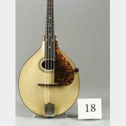 American Mandolin, The Gibson Mandolin-Guitar Company, Kalamazoo, 1919, Model A3