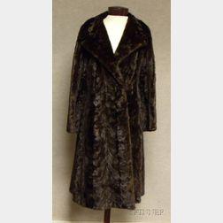 Vintage Mid-Length Mink Coat