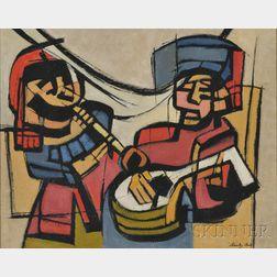 Stanley Bate (American, 1903-1972)      Musica Antigua