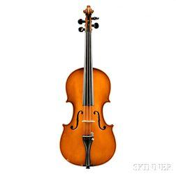French Violin, JTL, c. 1900