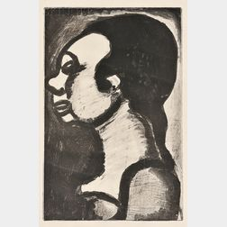 Georges Rouault (French, 1871-1958)      Femme Hideuse