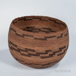California Pomo Basketry Bowl