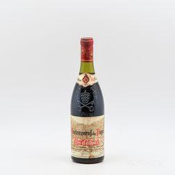 Lucien et Andre Brunel Chateauneuf du Pape Les Cailloux 1989, 1 bottle