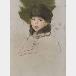 Cecilia Beaux (American, 1855-1942)  Portrait of Helena Dorothea McGrew