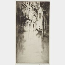 Levon West (American, 1900-1968)    Venetian Corner