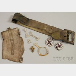 Small Group of Miscellaneous Jewelry and Accessory Items