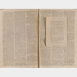 Newspapers, Revolutionary War: The American Journal and General Advertiser
