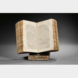 Turkish Incunabula: Vankuli, Mehmed ibn Mustafa (c. 1592) Kitab-i Lugat-i Vankuli