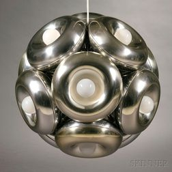 Hanging Lamp, Possibly Robert Sonneman