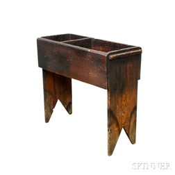 Small Pine Dry Sink
