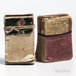 Miniature Flip Books, Two Examples.