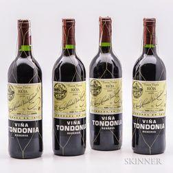 R. Lopez de Heredia Vina Tondonia Reserva 2000, 4 bottles