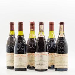 Chateau Beaucastel Chateauneuf du Pape, 6 bottles