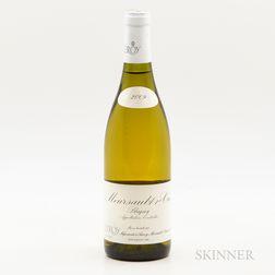 Maison Leroy Meursault Blagny 2009, 1 bottle