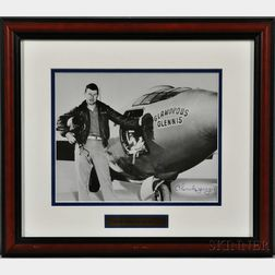Yeager, Chuck (b. 1923) Signed Photograph.