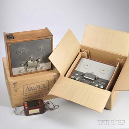 Three Reel-to-reel Stereo Recorders