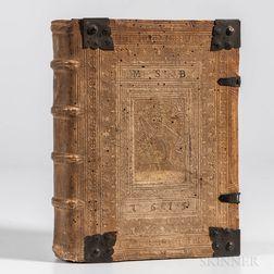 Gross, Johann Georg (1581-1630) Theatrum Biblicum.