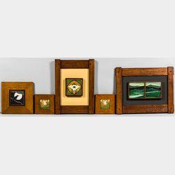 Five Motawi Tileworks Tiles