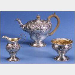 English George III Assembled Three Piece Tea Service