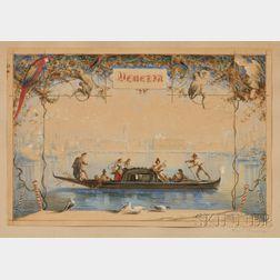 Caspar Johann Nepomuk Scheuren (German, 1810-1887)      Venezia