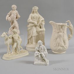 Five Parian Figures