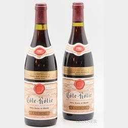 Guigal Cote Rotie Brune et Blonde 1983, 2 bottles