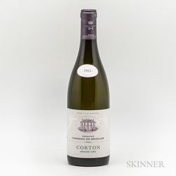 Chandon de Briailles Corton Blanc 2013, 1 bottle