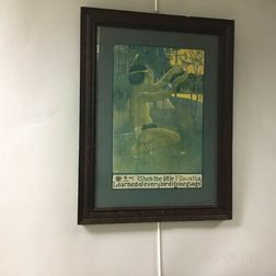 Framed Beard Art and Stationery Company Hiawatha Print