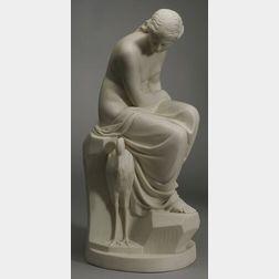 Minton Parian Figure of Solitude