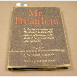 Harry S. Truman Signed Book   Mr. President