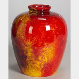 Royal Doulton Flambe Jar