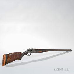 J. Stevens Arms & Tool Company 12-gauge Hammer Shotgun