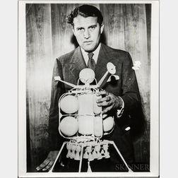 von Braun, Wernher, Four Photographs.