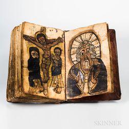 Ethiopian Manuscript on Parchment.