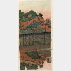 Arthur Wesley Dow (American, 1857-1922)  Little Venice