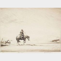 Levon West (American, 1900-1968)    Snow Swept