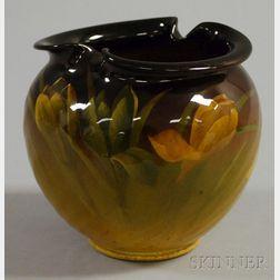 Rookwood Pottery Standard Glaze Crocus-decorated Vase
