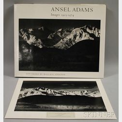 Ansel Adams Images 1923-1974   and an Artist Initialed Photographic Print