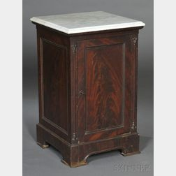 Classical Mahogany and Mahogany Veneer Music Cabinet