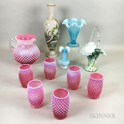Group of Victorian Glass