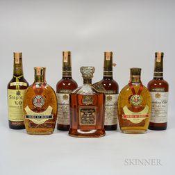 Mixed Canadian, 1 liter bottle 1 750 ml bottles 6 4/5 quart bottles (1 oc)