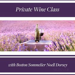 Private Wine Class with Boston Sommelier Noell Dorsey