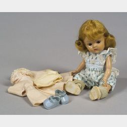 "Hard Plastic Ginny ""Crib Crowd"" Baby"