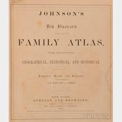Johnson's New Illustrated (Steel Plate) Family Atlas