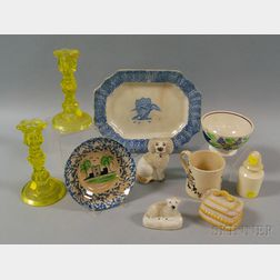 Group of Early Decorative Objects