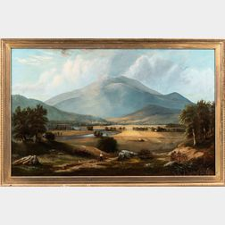 American School, 19th Century      Landscape with Mount Monadnock, New Hampshire